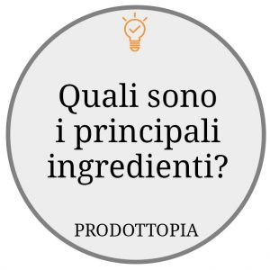 principali ingredienti