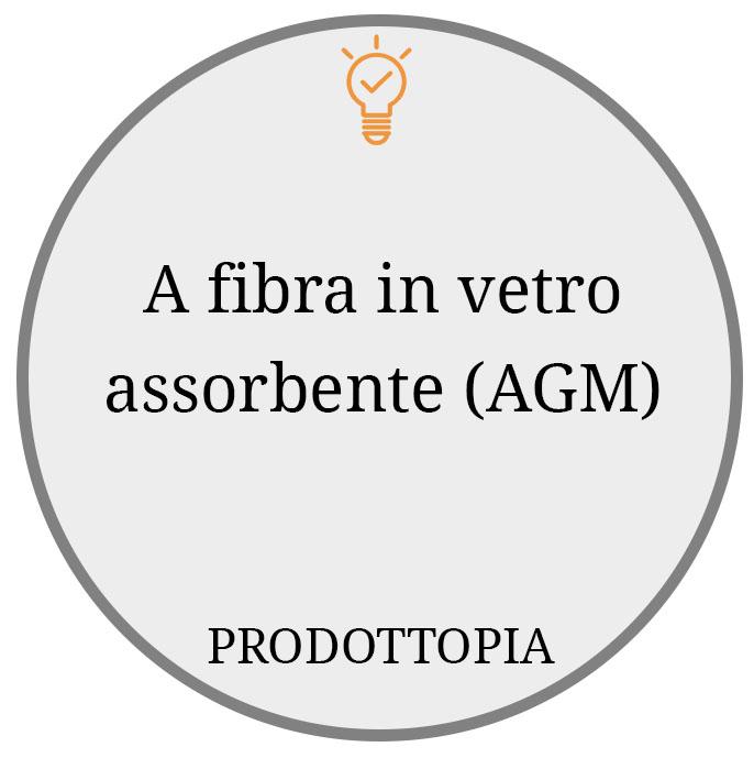 A fibra in vetro assorbente (AGM)