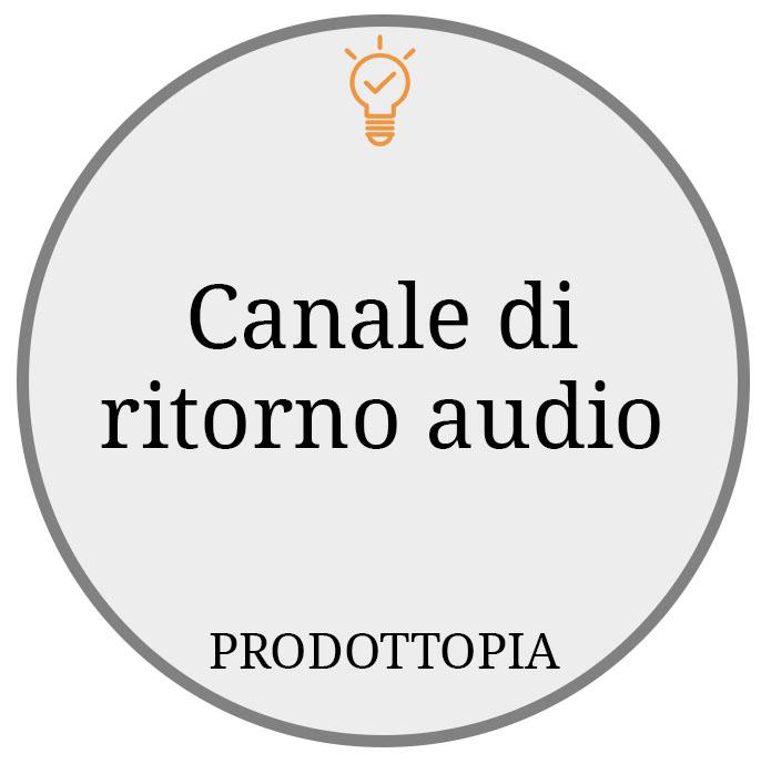 Canale di ritorno audio