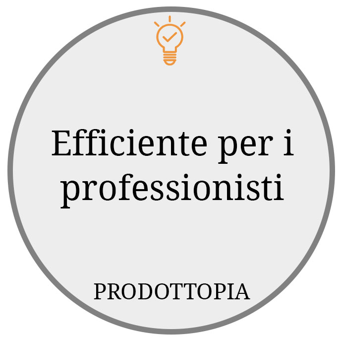 Efficiente per i professionisti
