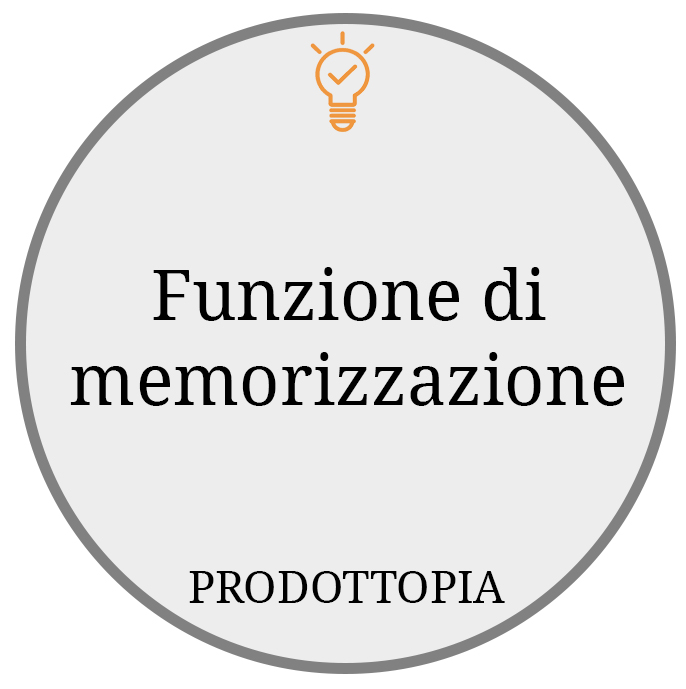 Funzione di memorizzazione