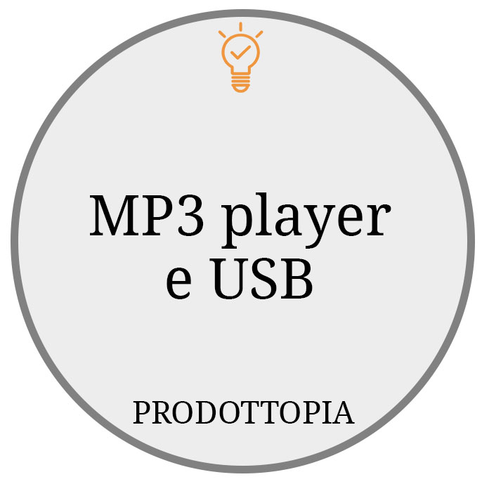 MP3 player e USB