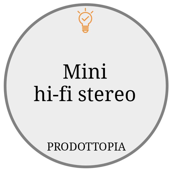 Mini hifi stereo