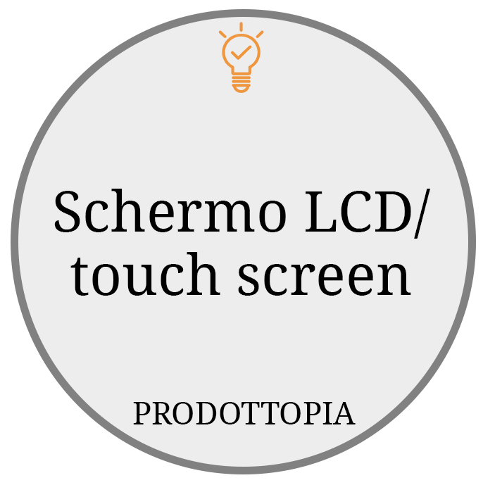 Schermo LCD touch screen