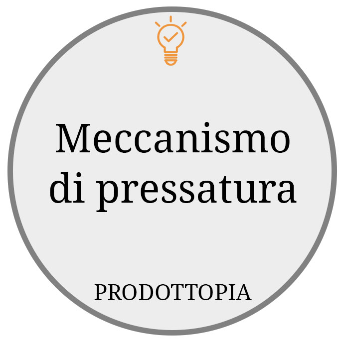 Meccanismo di pressatura